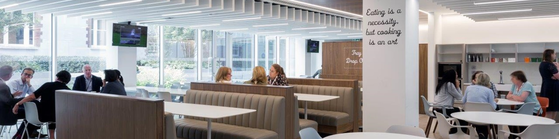 Acoustic Control In Open Plan Office Environments